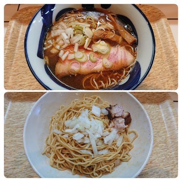 「煮干そば、和え玉(780円、200円)」@つけめん らーめん ブータンの写真