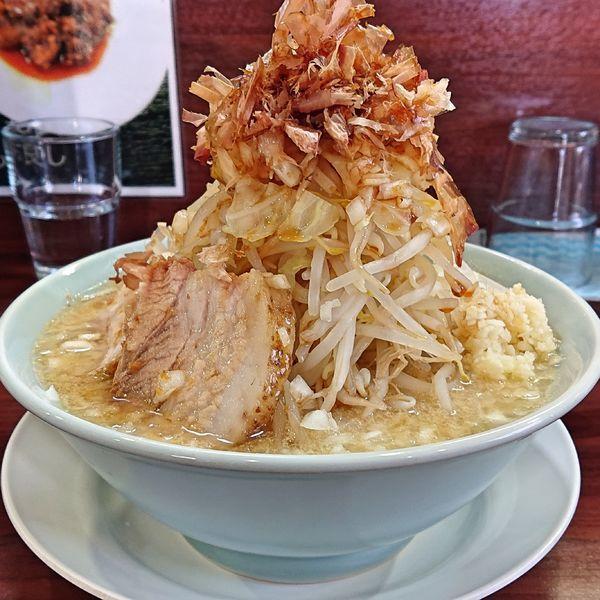「ガッツ味噌 900円」@麺屋 彬の写真