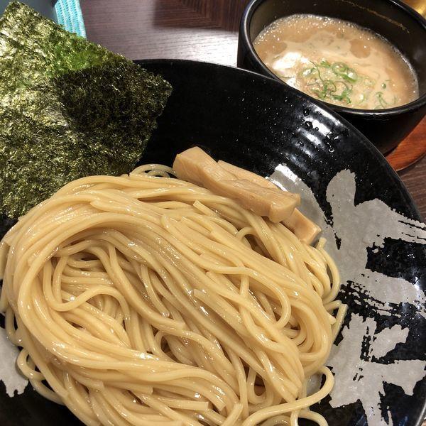 「鶏とん+生ビール(小)」@温泉つけ麺 維新 熱海本店の写真