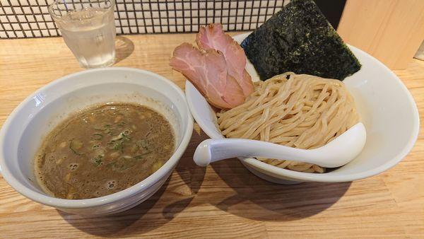 「煮干つけ麺」@らーめん 改の写真