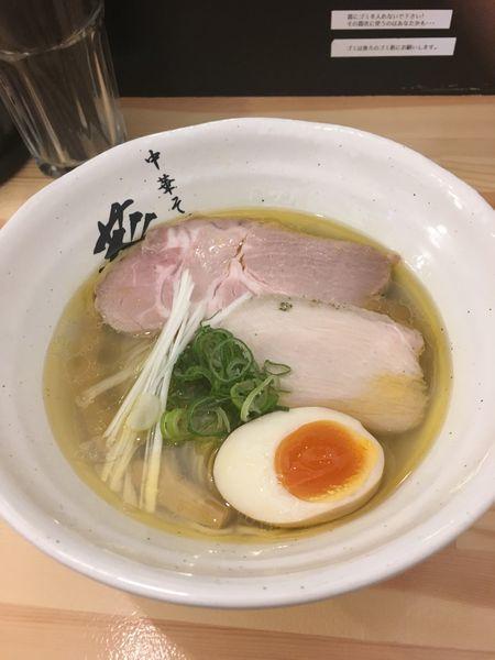 「鶏そば」@中華そば 葵の写真