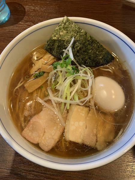 「味玉醤油」@麺処 びぎ屋 浜松店の写真