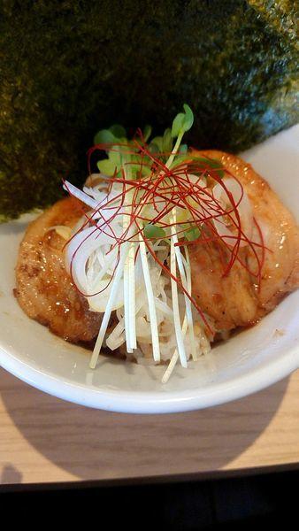 「醤油ラーメン お肉ごはん」@杏と桜の写真