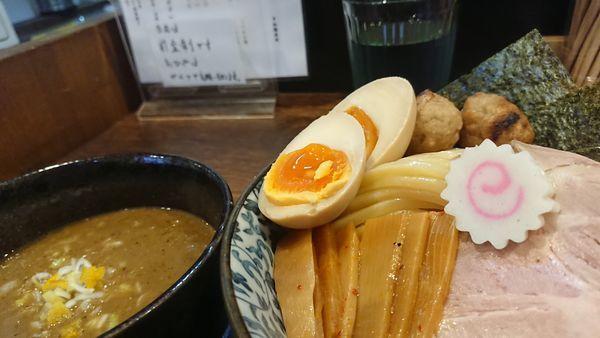 「特製つけ麺」@麺処はなぶさの写真