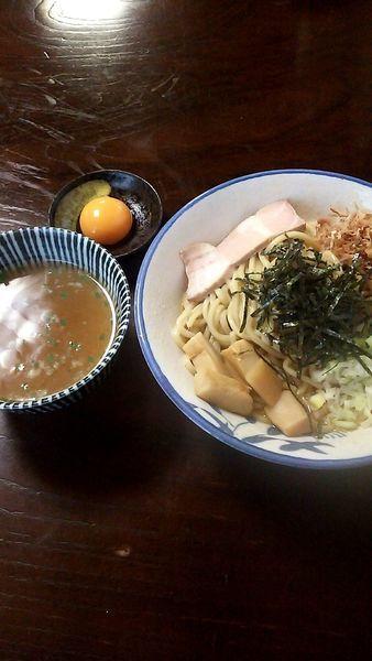 「油そば(700円)・卵黄(50円)」@麺屋お浦の写真
