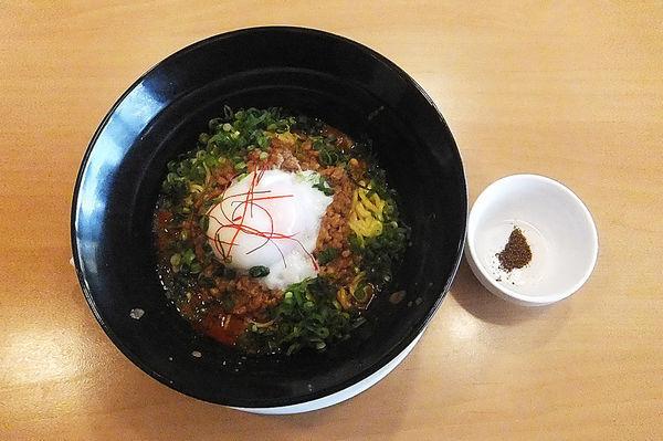 「広島 旨辛汁なし担担麺」@ガスト 越谷大袋店の写真