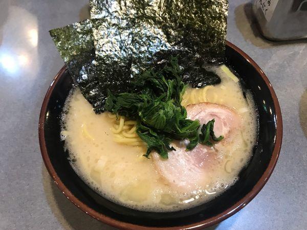「塩豚骨ラーメン680円 ネギチャーシュー丼150円」@醤油豚骨ラーメン 八右衛門の写真
