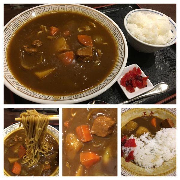 「カレーラーメンセット 980円」@大衆食堂 正広の写真