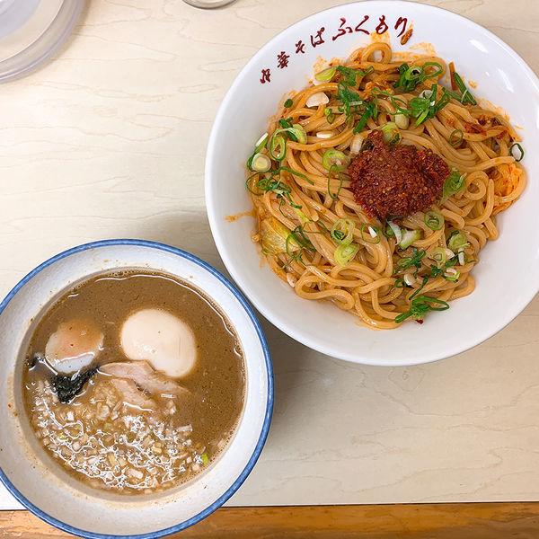 「辛つけ麺+漬け玉子」@中華そば ふくもりの写真
