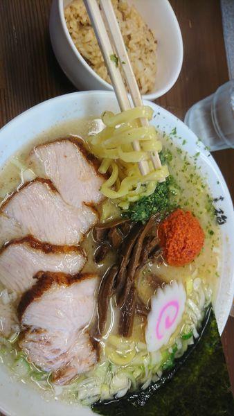 「辛味噌ラーメン」@麺や 極の写真