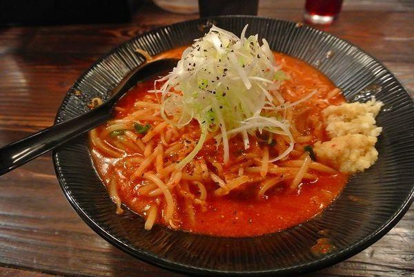 「辛味噌ラーメン750円 にんにく生姜」@大塚屋の写真