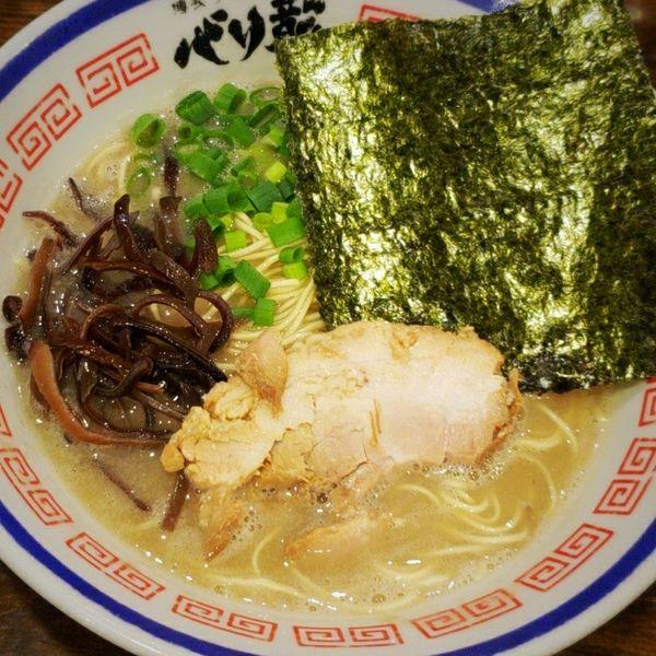 「とんこつらーめん 680円」@活龍 期間限定麺処 みつきの写真