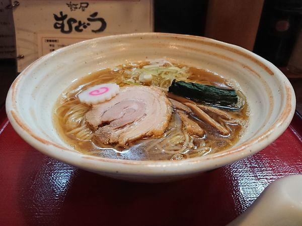 「魚介しょうゆ」@麺屋むどうの写真