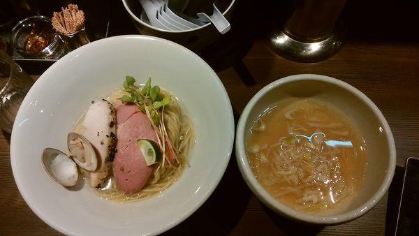 「4/1限定 蛤つけそば(塩)」@つけ麺 一燈の写真