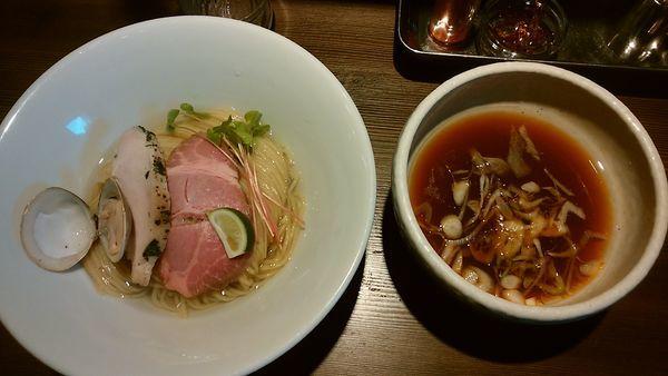 「4/1限定 蛤つけそば(醤油)」@つけ麺 一燈の写真