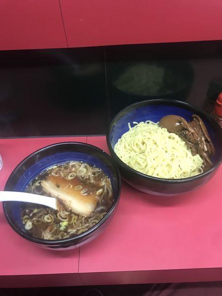 「つけ麺(中)味玉+メンマ」@麺 えどやの写真
