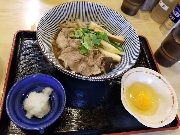 「【限定】すき焼き風まぜそば」@寿製麺よしかわ 坂戸店の写真