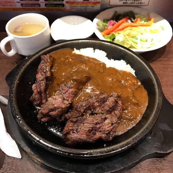「いきなり!ステーキカレー」@いきなりステーキ 立川北口店の写真