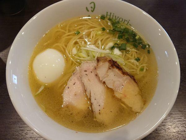 「特製鶏そば(塩)」@鶏そば 日和-Hiyori-の写真