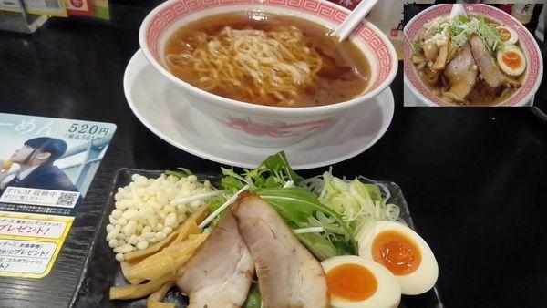 「かつお・煮干だしの和風らーめん529円」@幸楽苑 さいたま大戸店の写真