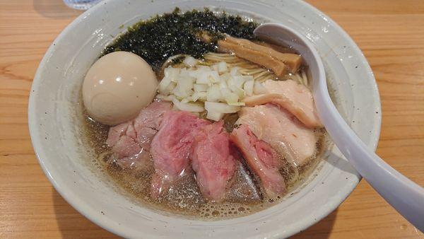 「特製煮干しらぁ麺」@麺屋 さくら井の写真