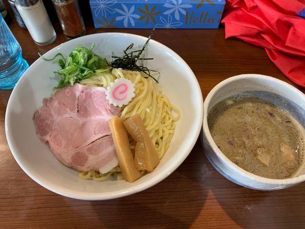 「煮干しつけ麺 850円 中盛無料」@中華そば 味万の写真