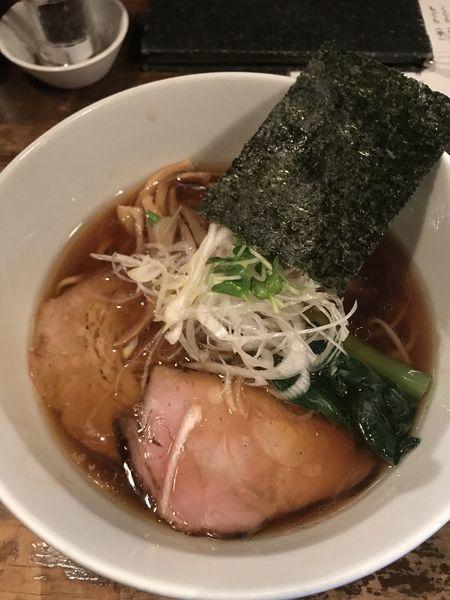 「支那そば」@日本橋 製麺庵 なな蓮の写真