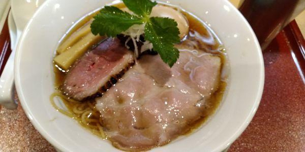 「味玉紀州鴨そば」@燃えよ麺助の写真