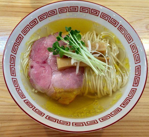 「白醤油 中華そば 竹ver.」@自家製麺 くろ松の写真