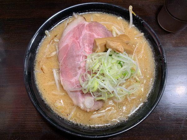 「炎の濃厚味噌ラーメン800円」@麺匠 茜ノ舞の写真