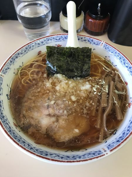 「ラーメン ¥550」@タンタンの写真
