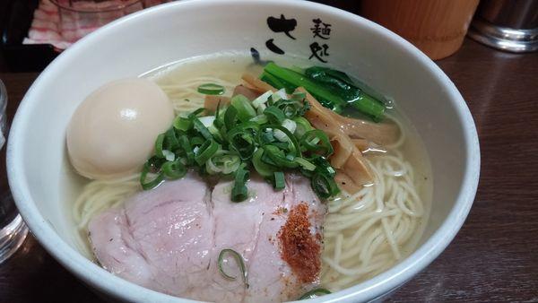 「豊魚鶏だし塩ラーメン味たま 870円」@麺処 さとうの写真