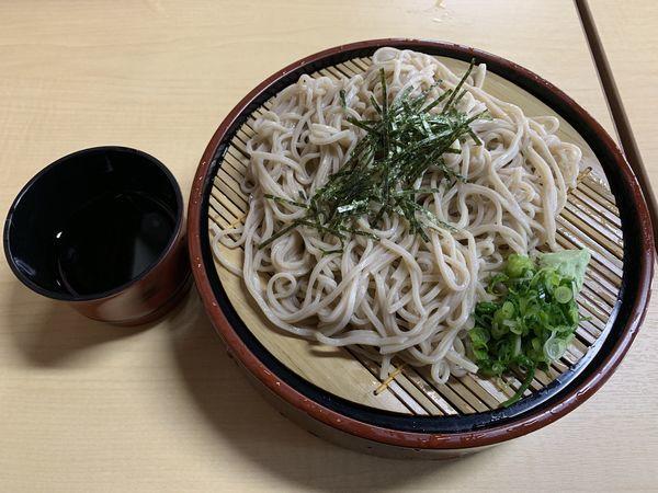 「ざるそば 650円」@日吉そばの写真