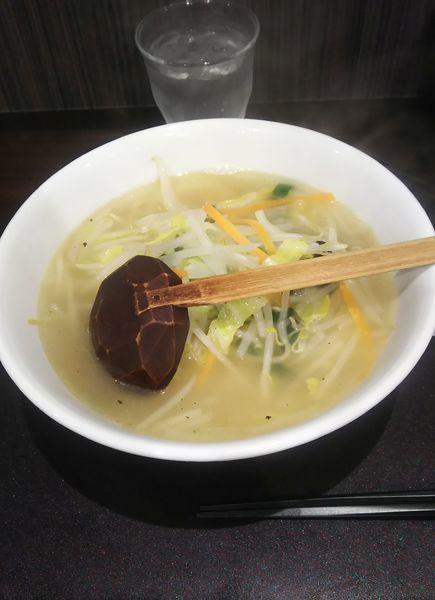 「野菜ラーメン(塩)」@手打ちらーめん 満月の写真
