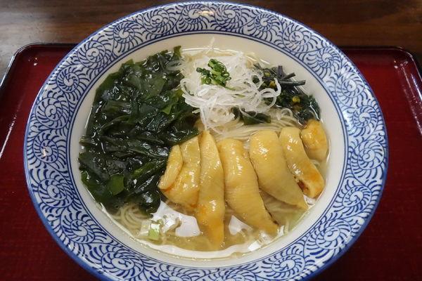 「【限定】南三陸ほや潮麺(温)」@潮の音の写真