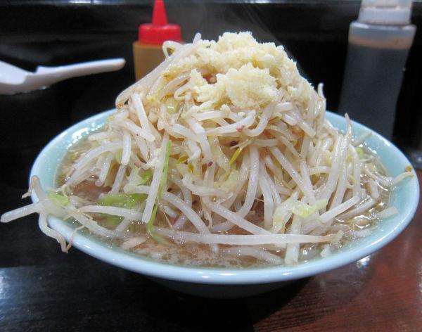 「ポン酢(太麺) 900円(蒜無し)」@のスた 凛本店の写真
