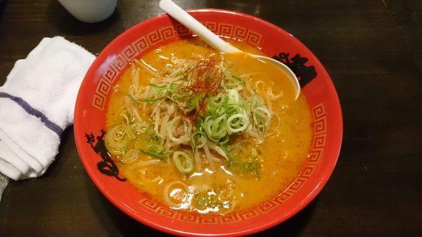 「担豚麺850円」@ららら らーめん 佐賀駅北口店の写真