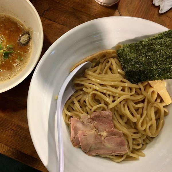 「濃厚煮干し辛つけそば¥850 激辛」@麺屋 ゆるり。の写真