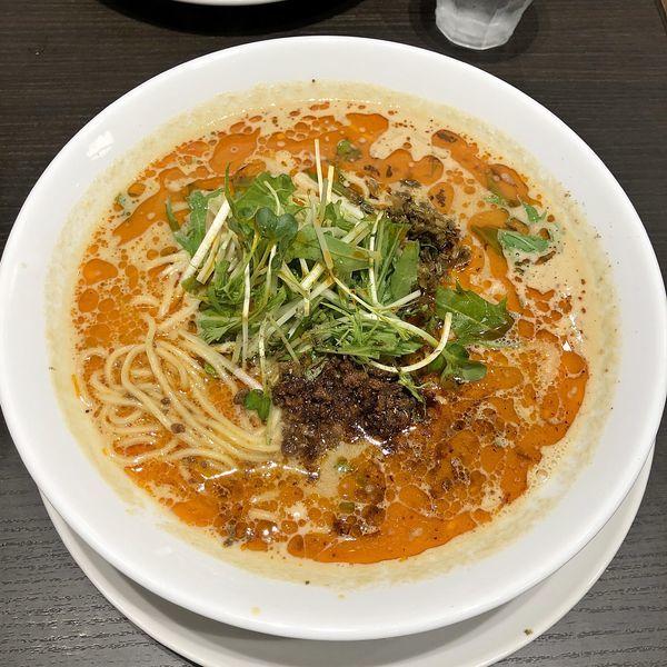 「担担麺 ¥880」@四川担担麺 阿吽 キッテグランシェ店の写真