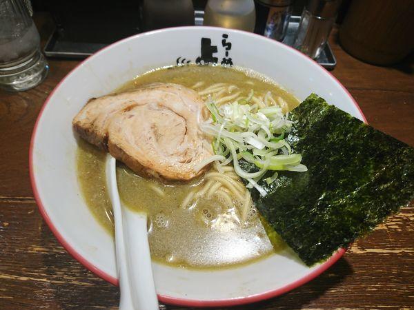 「魚ラーメン」@らーめん よし丸の写真