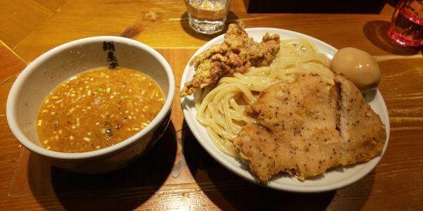 「濃厚二天つけ麺(中)」@麺屋武蔵 二天の写真