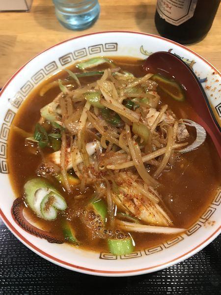 「【限定】辛ネギラーメン」@味噌麺処 花道の写真