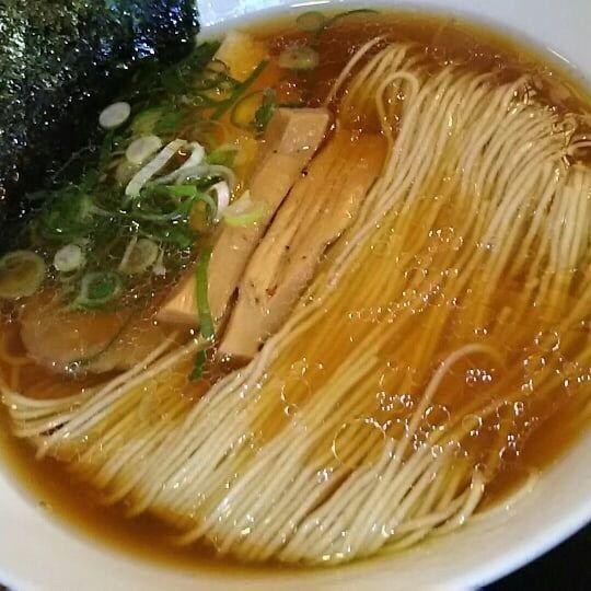 「中華そば醤油」@麺や食堂の写真