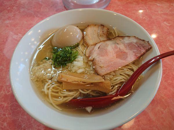 「味玉浅利塩バターらーめん 850円」@カッパラーメンセンターの写真