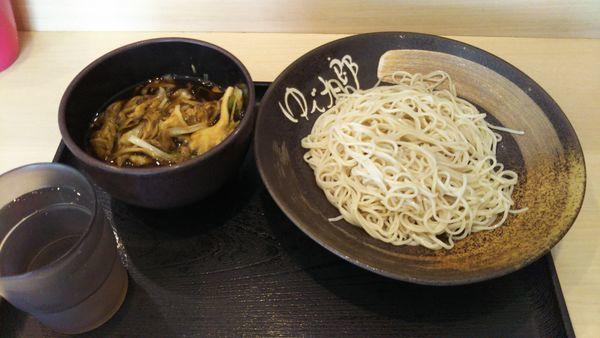 「肉舞茸そば」@ゆで太郎 牛久栄町店の写真