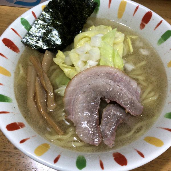 「極太らーめん(塩)600円」@らーめん・つけめん 麺治の写真