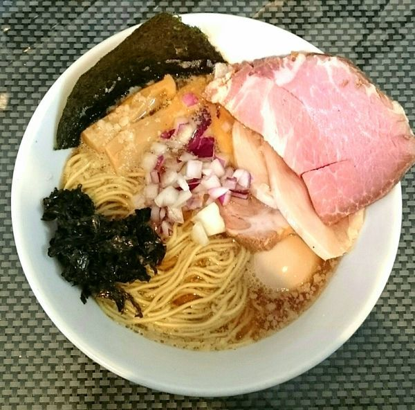 「特製煮干」@赤青(MURASAKI)の写真
