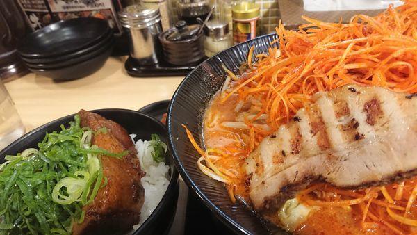 「辛ねぎ味噌らーめん」@味噌屋蔵之介 東松山店の写真