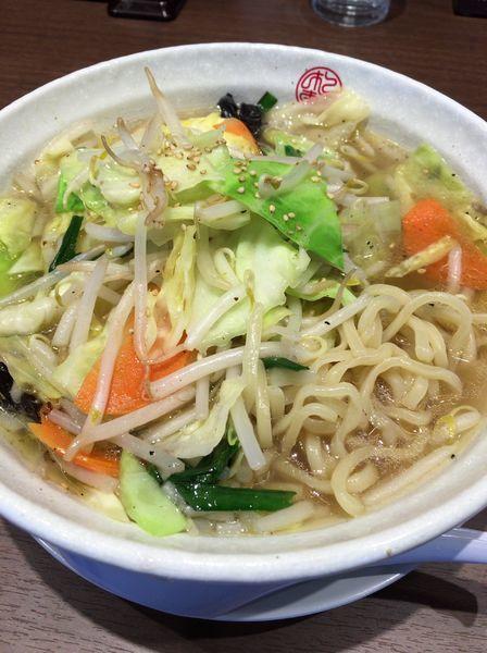 「野菜たっぷりタンメン 630円」@松軒 中華食堂 練馬店の写真