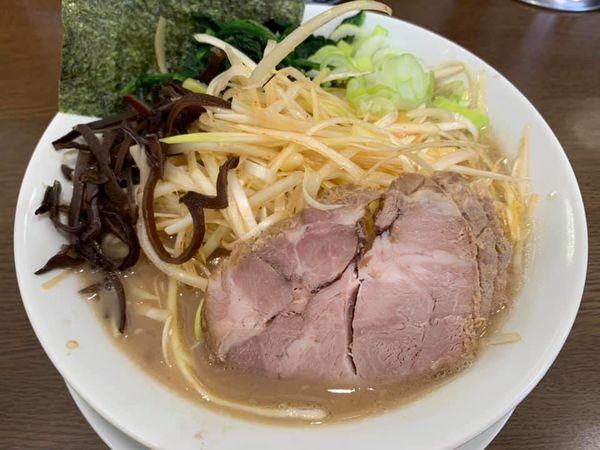 「ネギラーメン(細麺)」@うまいヨ ゆうちゃんラーメンの写真